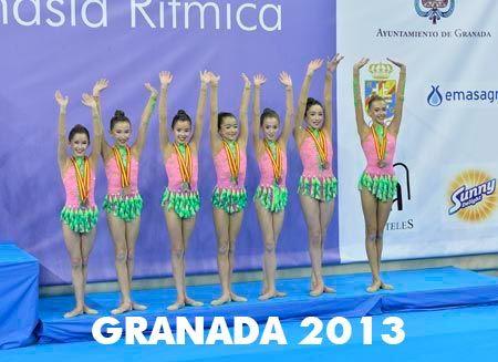 pódium granada 2013