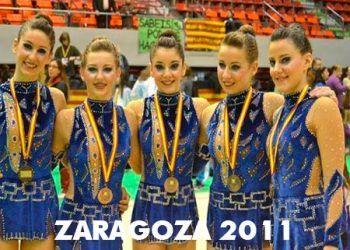 medalla de bronce en Zaragoza 2011
