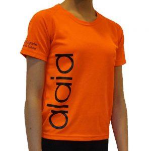 camiseta alaia naranja