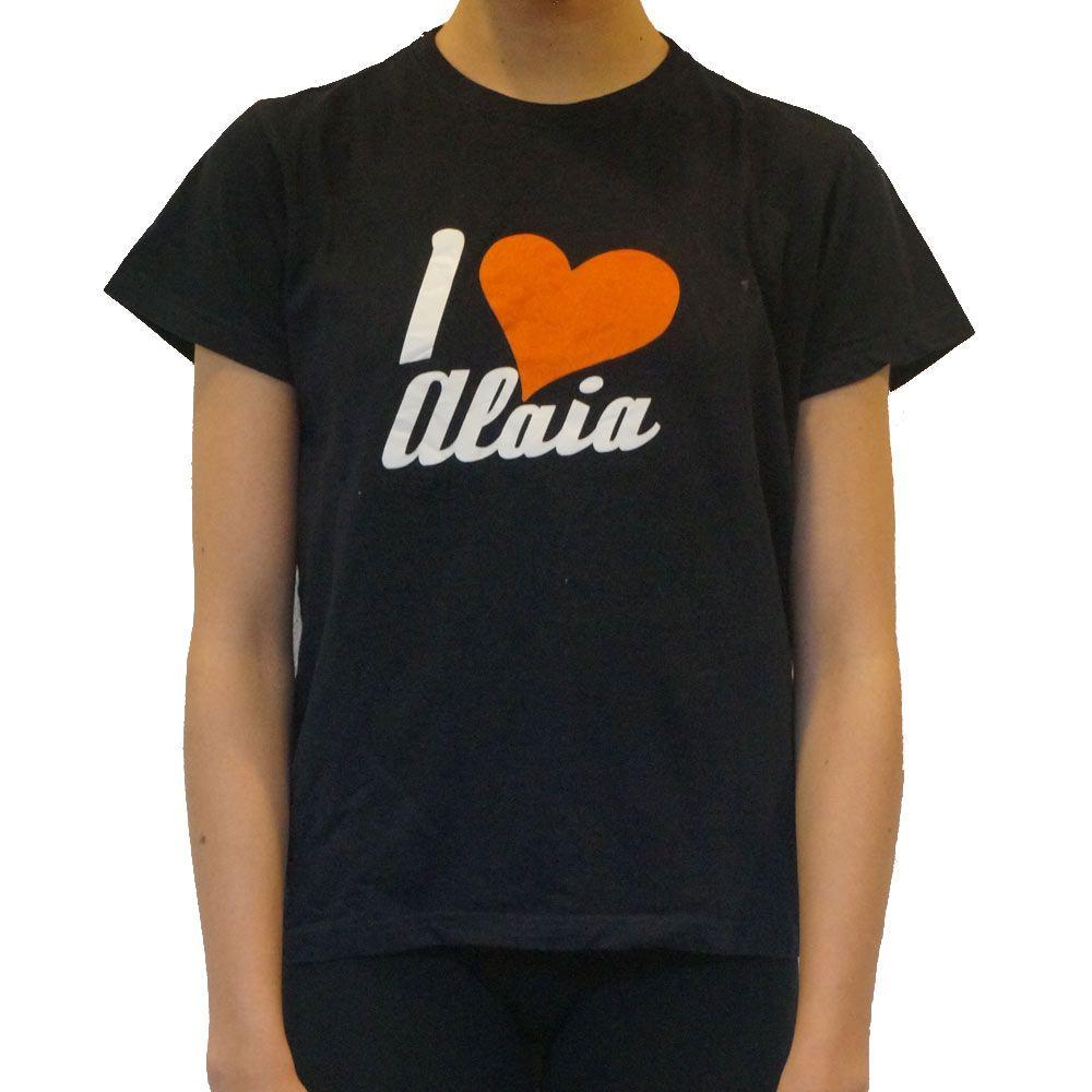 camiseta i love alaia