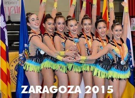 Pódium Zaragoza 2015