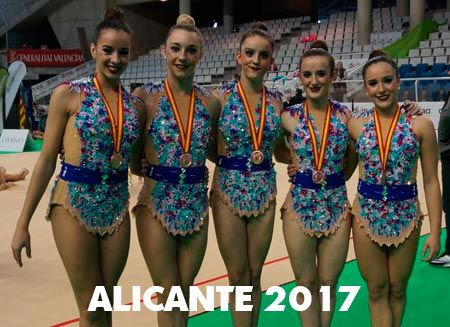 medalla de bronce en la copa de españa en alicante 2017